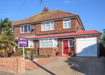Thumbnail 3 bed semi-detached house for sale in Rydal Avenue, Ramsgate