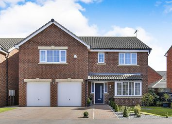 Thumbnail 5 bed detached house for sale in Surtees Drive, Willington, Crook