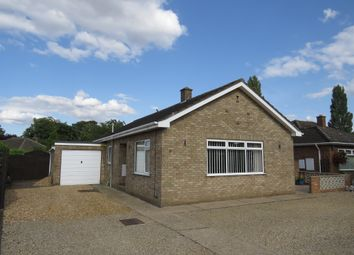 Thumbnail 3 bed detached bungalow for sale in Westfields Close, Tilney St. Lawrence, King's Lynn