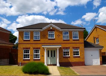 Thumbnail 4 bed detached house for sale in Honeysuckle Drive, South Normanton Derbyshire