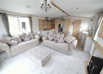 Thumbnail 3 bed mobile/park home for sale in Thornwick Bay, Bridlington