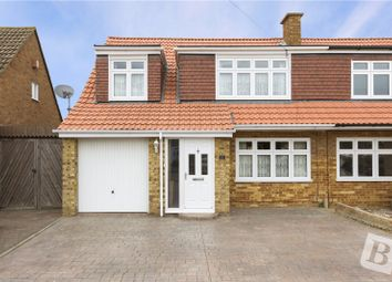 Thumbnail 4 bed semi-detached house for sale in Flowerhill Way, Istead Rise, Gravesend, Kent