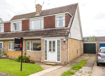 Thumbnail 3 bed semi-detached house for sale in Carrfield, York, North Yorkshire