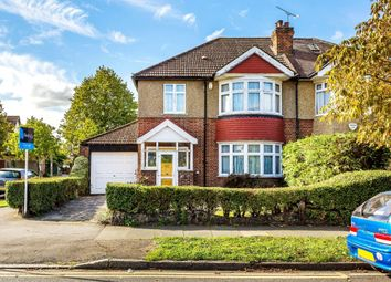 Thumbnail 4 bed semi-detached house for sale in Kenley Road, Merton Park