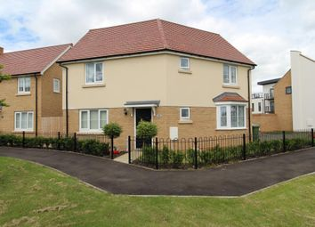Thumbnail 3 bedroom detached house to rent in Summers Hill Drive, Papworth Everard, Cambridge