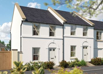 "Thumbnail 2 bed terraced house for sale in ""The Wembury"" at Haye Road, Sherford, Plymouth"