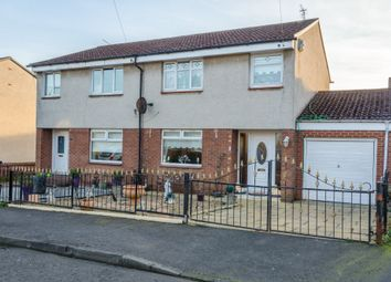 Thumbnail 3 bed semi-detached house for sale in Ardargie Drive, Glasgow
