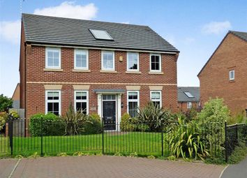 Thumbnail 4 bedroom detached house for sale in Sutton Avenue, Silverdale, Newcastle-Under-Lyme