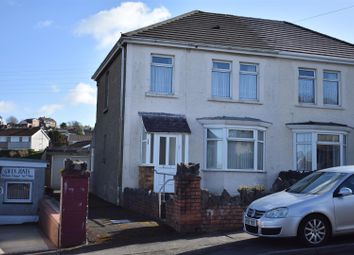 Thumbnail 3 bedroom semi-detached house for sale in Trallwn Road, Llansamlet, Swansea