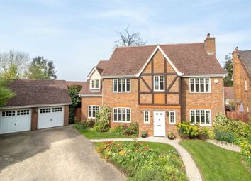 Thumbnail 5 bed detached house for sale in Heckfield Drive, Fleet