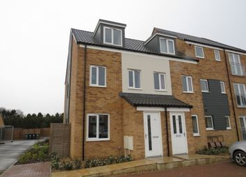 Thumbnail 3 bed town house for sale in Reeve Way, Wymondham