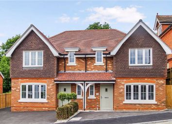 Thumbnail 3 bed semi-detached house for sale in Critchmere Hill, Haslemere, Surrey