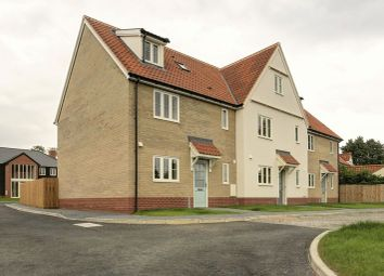 Thumbnail 3 bed end terrace house for sale in School View, Caston, Attleborough
