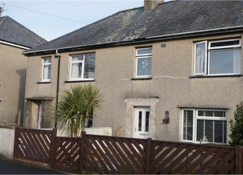 Thumbnail 3 bed terraced house for sale in Ty'n Rhos, Criccieth