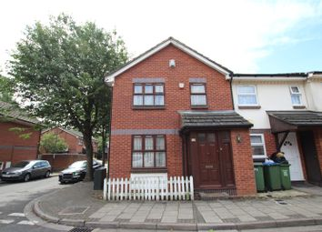 Thumbnail 3 bed end terrace house for sale in Goosander Way, West Thamesmead