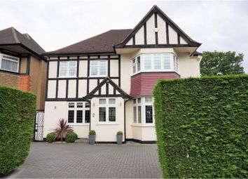 Thumbnail 4 bed detached house for sale in Hazel Gardens, Edgware