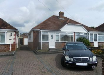 Thumbnail 2 bed semi-detached bungalow for sale in The Crossway, Portchester