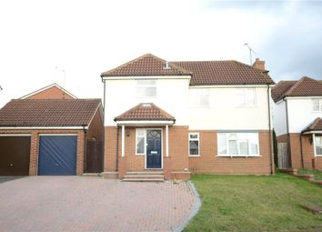 Thumbnail 4 bed detached house for sale in Finbeck Way, Lower Earley, Reading
