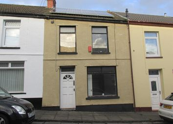 Thumbnail 3 bed terraced house for sale in Seward Street, Penydarren, Merthyr Tydfil