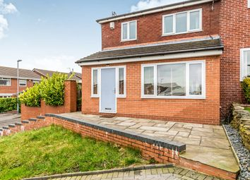 Thumbnail 3 bed semi-detached house for sale in Whitecroft Avenue, Shaw, Oldham