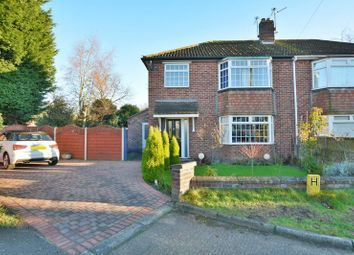 Thumbnail 3 bed semi-detached house for sale in Branston Close, Lincoln