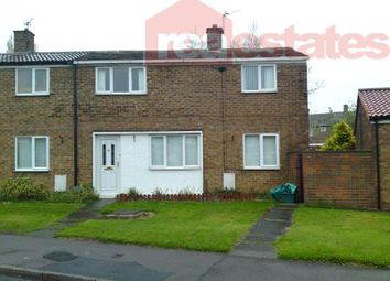 Thumbnail 2 bed terraced house to rent in Biscop Crescent, Newton Aycliffe