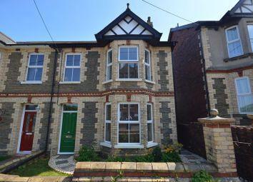Thumbnail 3 bed semi-detached house for sale in Blaendare Road, Cwmfields, Pontypool