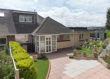 Thumbnail 3 bed semi-detached bungalow for sale in Lauriston Close, Torquay