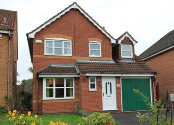 Thumbnail 3 bed detached house for sale in Garganey Close, Coalville
