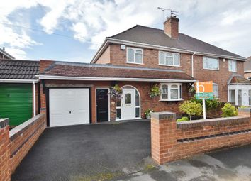 Thumbnail 3 bed semi-detached house for sale in South Crescent, Featherstone, Wolverhampton
