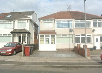 Thumbnail 3 bed semi-detached house to rent in Jeffereys Cresent, Liverpool
