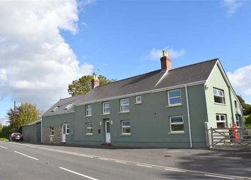 Thumbnail 5 bed detached house for sale in Cosheston, Pembroke Dock