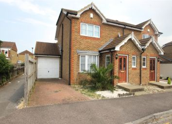 Thumbnail 3 bed semi-detached house for sale in Lodge Hill Lane, Chattenden, Kent
