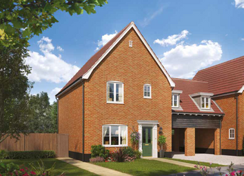 Thumbnail 3 bed link-detached house for sale in The Henny, Brook Street, Glemsford, Sudbury, Suffolk