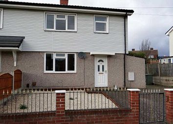 Thumbnail 3 bed semi-detached house to rent in Central Walk, Brimington, Chesterfield