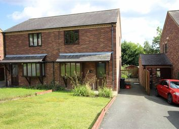 Thumbnail 2 bed semi-detached house to rent in 24, Chestnut Drive, Middletown, Welshpool, Powys