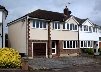 Thumbnail 4 bed semi-detached house for sale in Purlieu Way, Theydon Bois, Epping, Essex