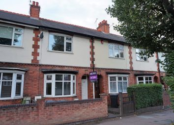 Thumbnail 2 bed terraced house for sale in Welford Road, Leicester