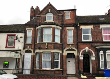 Thumbnail 1 bed flat to rent in Flat 2, Waterloo Road, Stoke On Trent, Staffordshire
