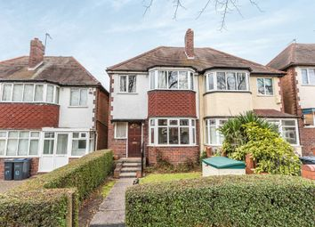 Thumbnail 3 bedroom semi-detached house for sale in Rectory Park Road, Sheldon, Birmingham