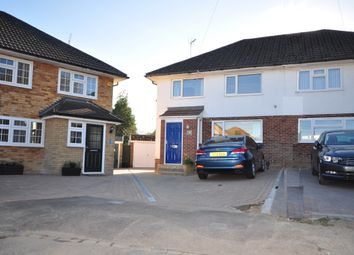 Thumbnail 3 bed semi-detached house to rent in Bligh Close, Crawley