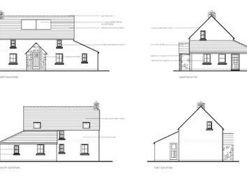 Thumbnail 3 bed detached house for sale in Upper Nash, Lamphey, Pembroke