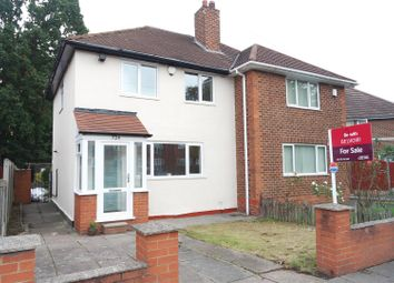 Thumbnail 2 bedroom semi-detached house for sale in Flaxley Road, Birmingham