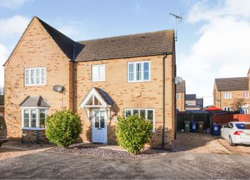 Thumbnail 3 bedroom semi-detached house for sale in Front Road, Murrow, Wisbech