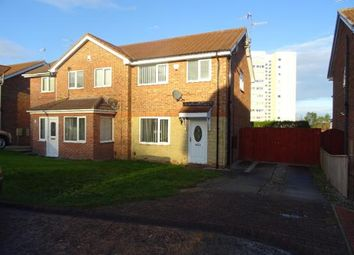 Thumbnail 3 bed semi-detached house to rent in Hardwick Court, Gateshead