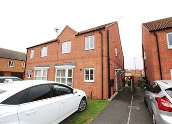 Thumbnail 1 bed semi-detached house to rent in Willow Gardens, Selby