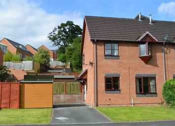 Thumbnail 2 bed end terrace house to rent in 12, Holly Court, Barnfields, Newtown, Powys