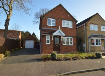 Thumbnail 3 bed detached house to rent in Centenary Way, Brampton, Huntingdon, Cambridgeshire