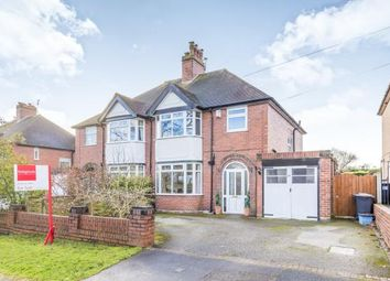 Thumbnail 3 bed semi-detached house for sale in Kingsway East, Westlands, Newcastle Under Lyme, Staffs