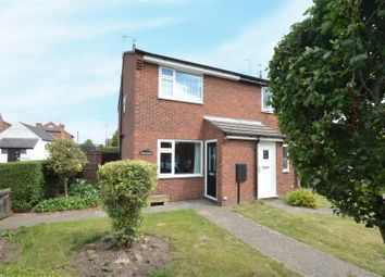 Thumbnail 2 bed semi-detached house for sale in High Street Avenue, Arnold, Nottingham